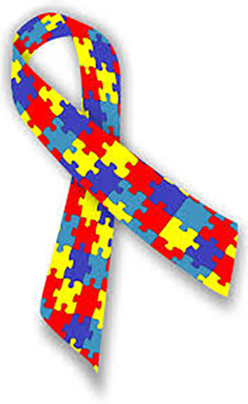 Autism ribbon puzzle pieces Scottsdale AZ