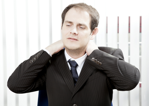 Neck Pain relief from Chiropractic care in Work Place