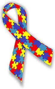 Autism ribbon puzzle pieces Scottsdale AZ