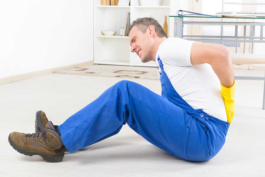 back pain after personal injury