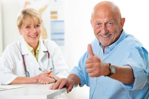 Patient Visiting Chiropractor