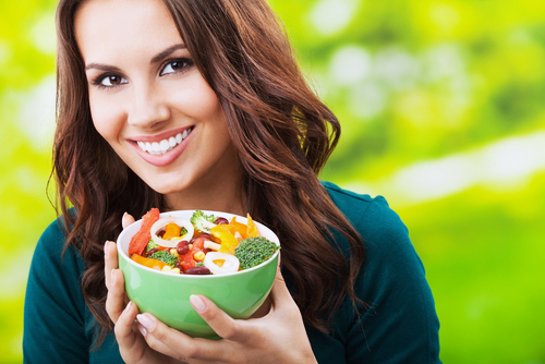 Antioxidant Woman