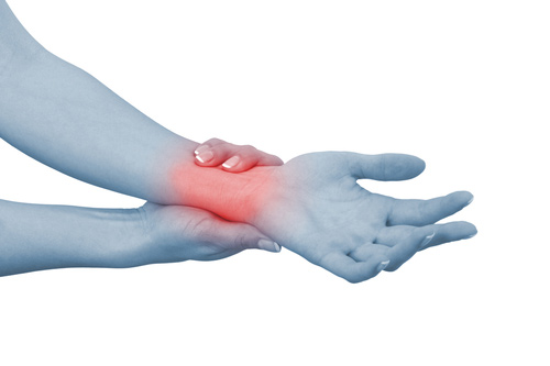 Woman Suffering Carpal Tunnel Syndrome